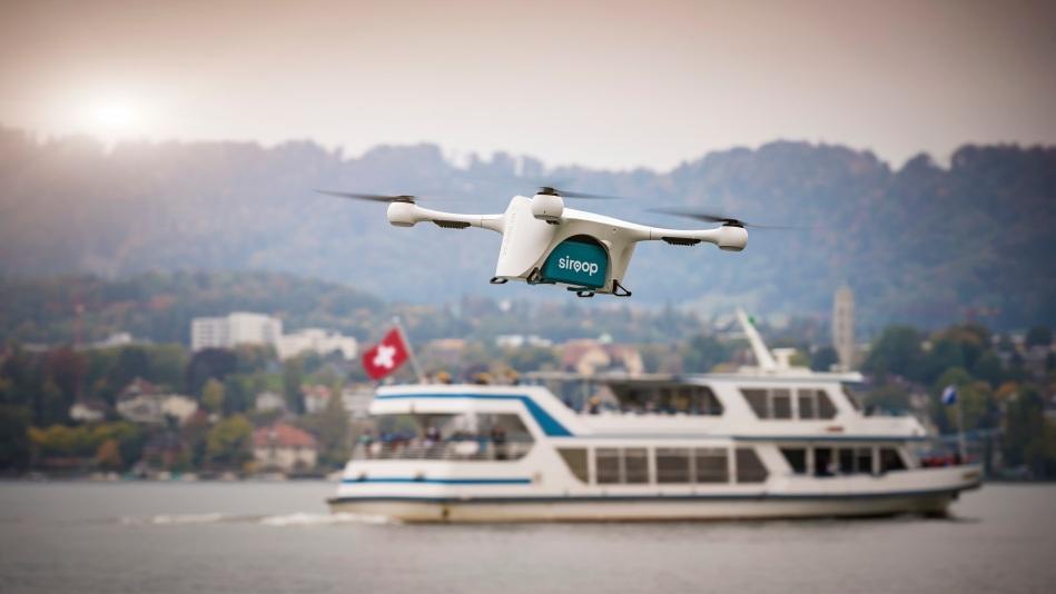Vans & Drones in Zürich: Mercedes-Benz Vans, Matternet und siroop starten Pilotprojekt zur On-Demand-Lieferung von e-Commerce-Produkten