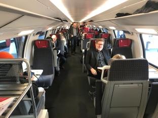 Fahrgastraum 1. Klasse