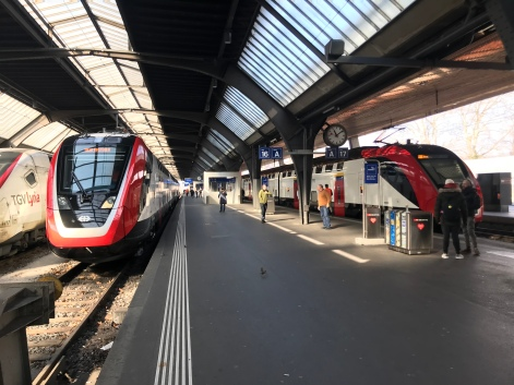 SBB Fernverkehrs-Doppelstockzug FV-Dosto von Bombardier, Erstfahrt am 26.2.2018