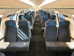 Fahrgastraum 2. Klasse