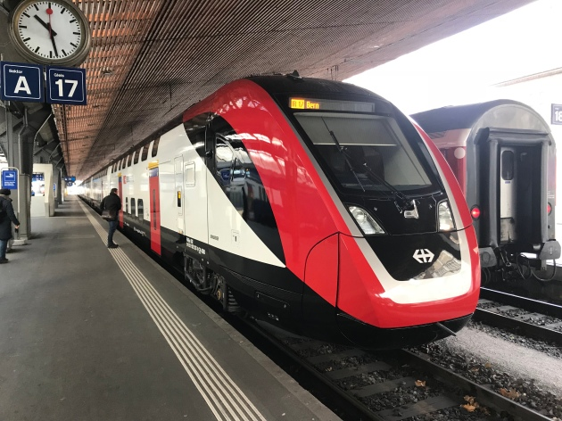 Aussenansicht Zürich HB Gleis 17
