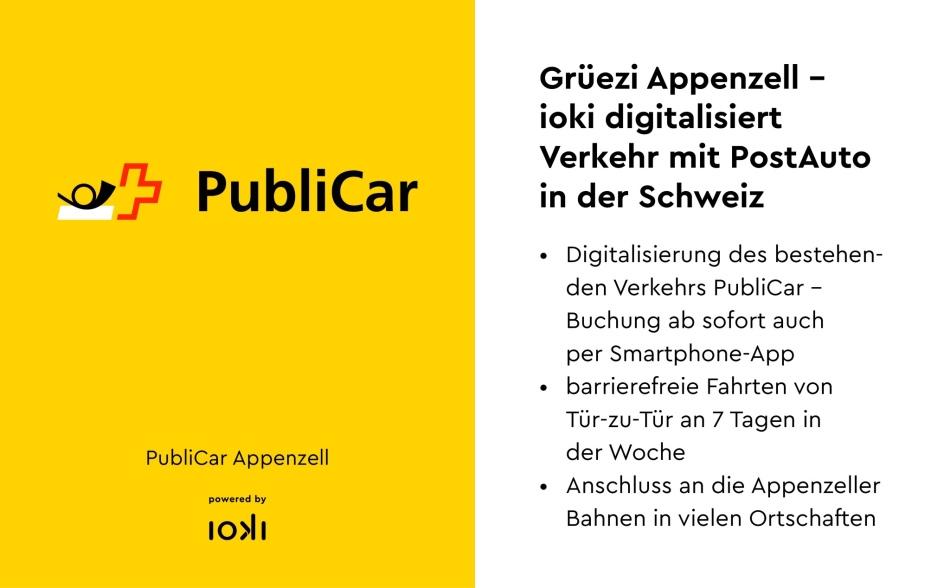 PubliCar ioki App